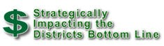 Purchasing Department districts bottom line sign