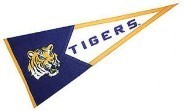 Tigers college banner