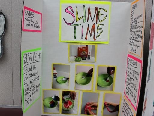 Slime time science project