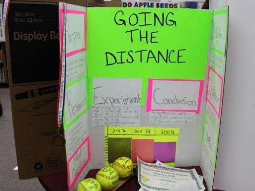 Going the distance science project