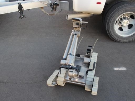 Remote control robot with camera