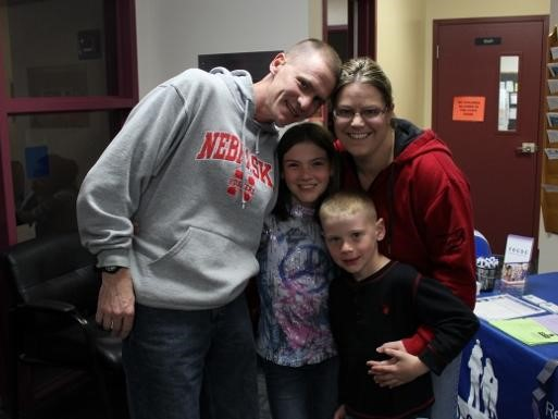 Family at Science Night