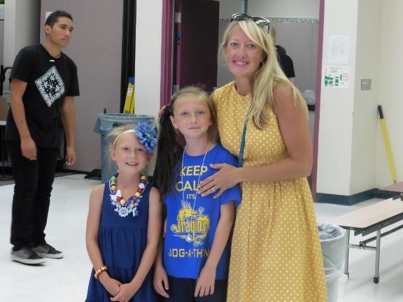 Carnival day at Condor Elementary school