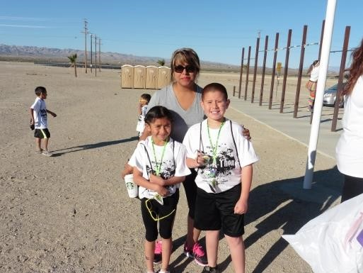 People at the Condor's Color Run