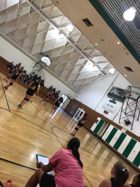 Volleyball Game at TPJHS 10-5-17