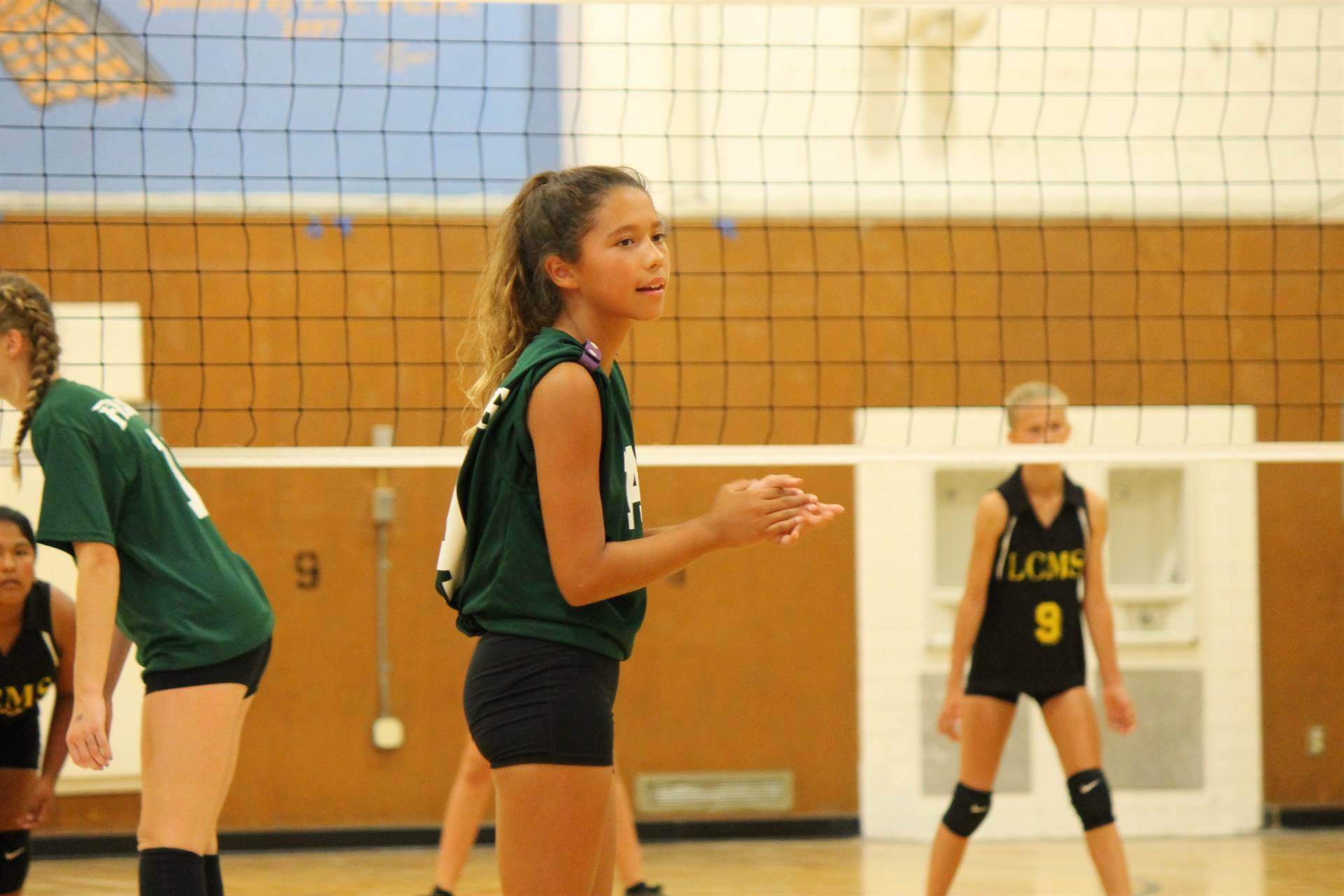 Picture of girl volleyball player