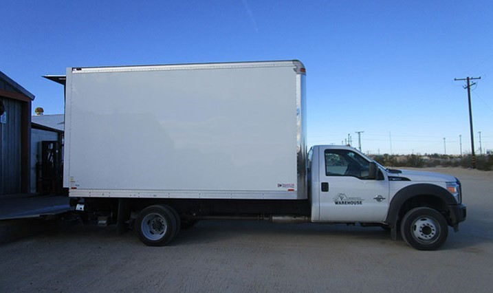 Purchasing and Warehouse Delivery Truck