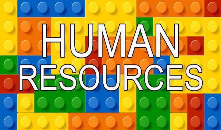 Human Resources with Lego Background