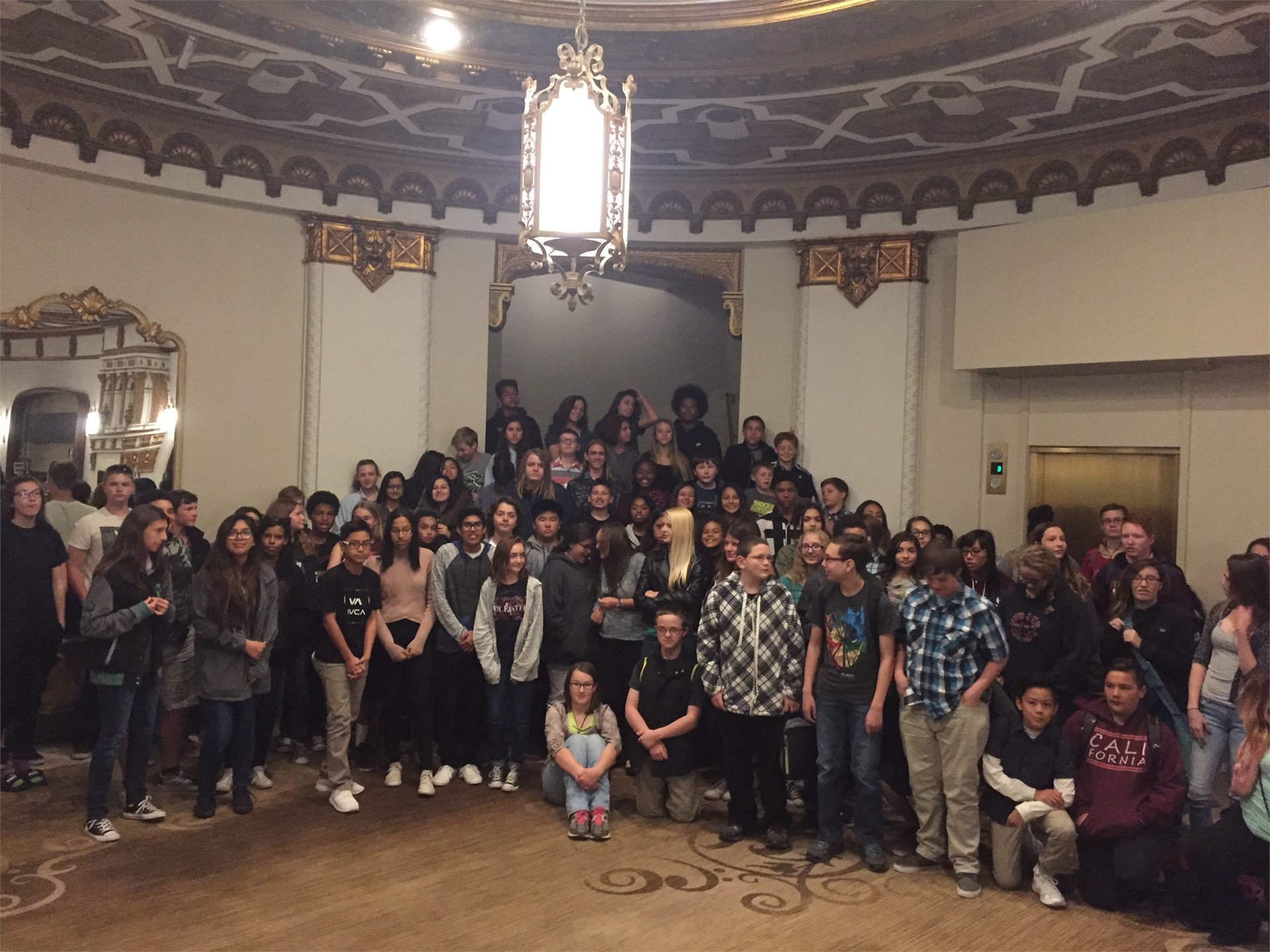 TPJHS and LCMS go to the San Diego Symphony