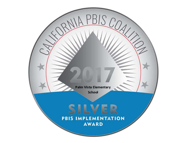 PVES is a PBIS silver medal winner