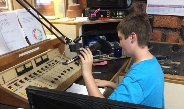 Nicholas Lafferty, 8th grader, Z107.7 LCMS News Assignment Reporter