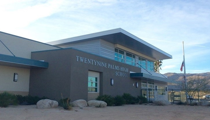 Twentynine Palms High School Administration Building