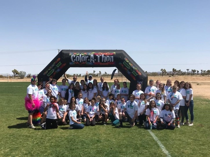 2nd Annual Color Run 4-13-18