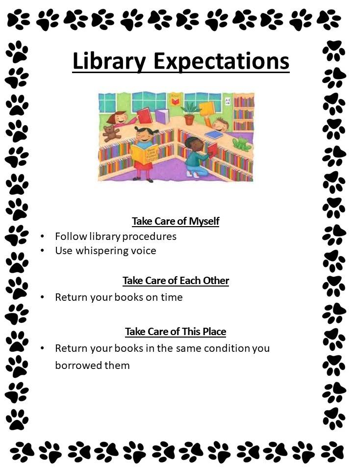 Oasis Library Behavior Expectations