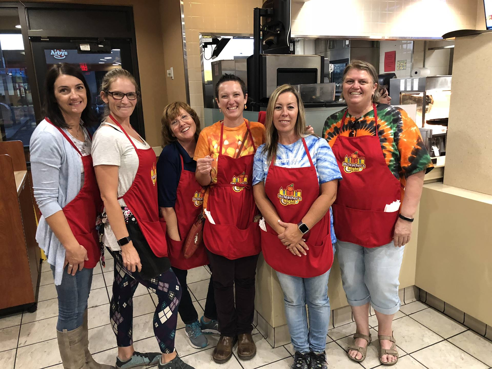 7 McTeacher's Night at McDonald's