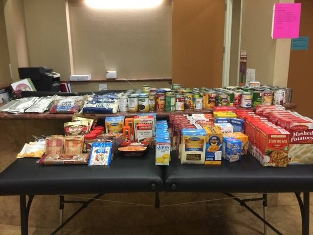 Canned Food Drive Food Collection