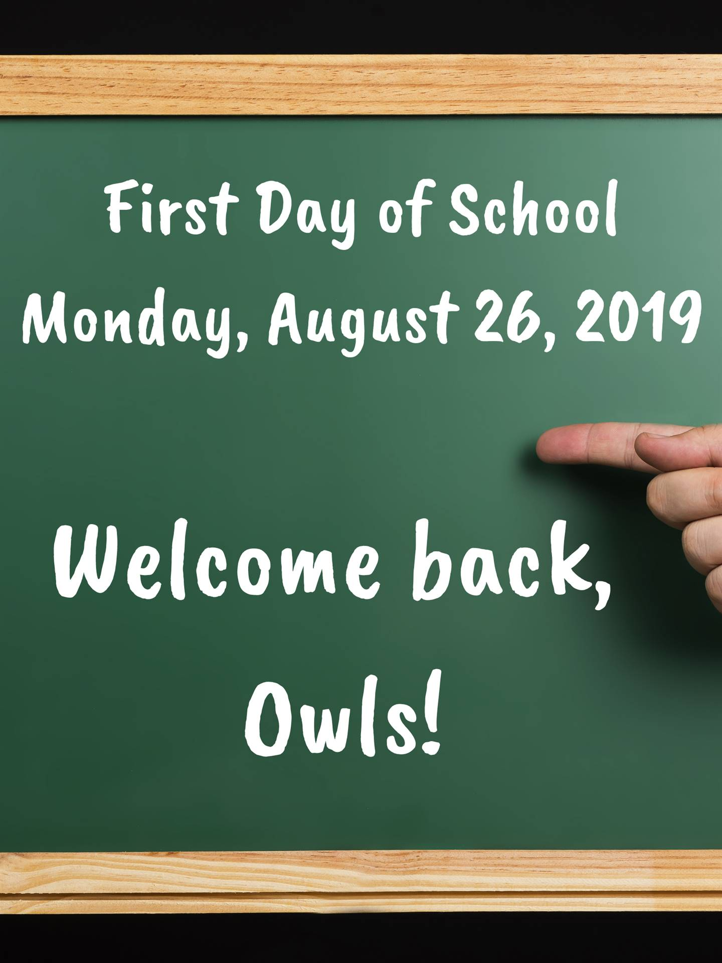 First Day 2019-2020