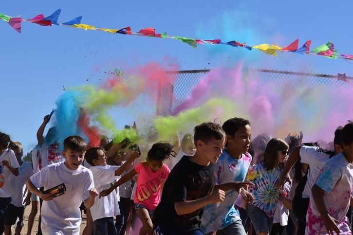 Annual Color Run Fundraiser!